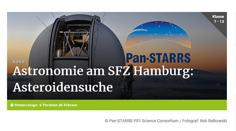 © Pan-STARRS PS1 Science Consortium / Fotograf: Rob Ratkowski